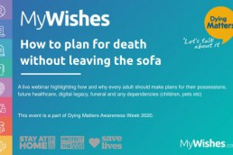 MyWishes - Event Dying Matters Awareness Week